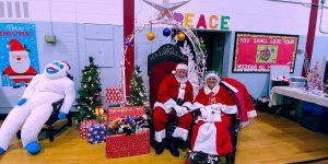 Santa at St. Ambrose