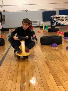 Wiggle Cars at St. Ambrose Academy